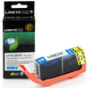 LINKYO Replacement Cyan Ink Cartridge for Canon CLI-221