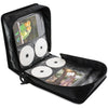 LINKYO Heavy Duty Black DVD Wallet Binder - 256 Disc with 128 Title Liner Note Capacity