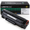 LINKYO Replacement Black Toner Cartridge for HP 35A CB435A