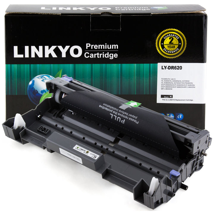 LINKYO Replacement Drum Unit for Brother DR620