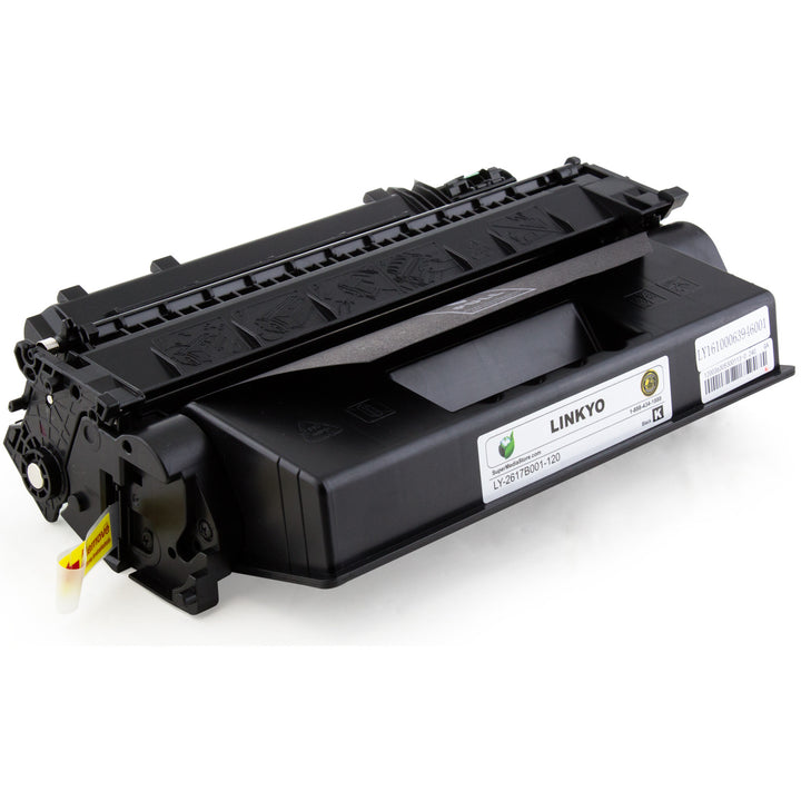 LINKYO Replacement Black Toner Cartridge for Canon 120