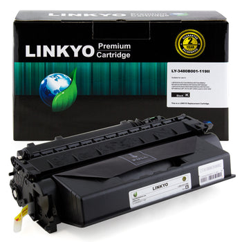 LINKYO Replacement High Yield Toner Cartridge for Canon 119 II (Black)