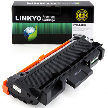 LINKYO Replacement Black Toner Cartridge for Samsung MLT-D116L