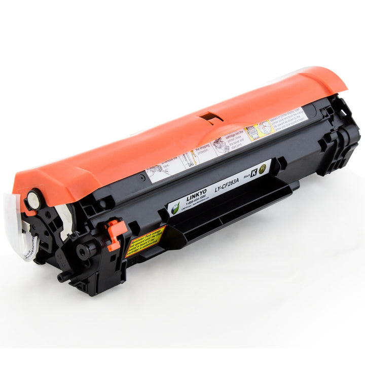 LINKYO Replacement Black Toner Cartridge for HP 83A CF283A