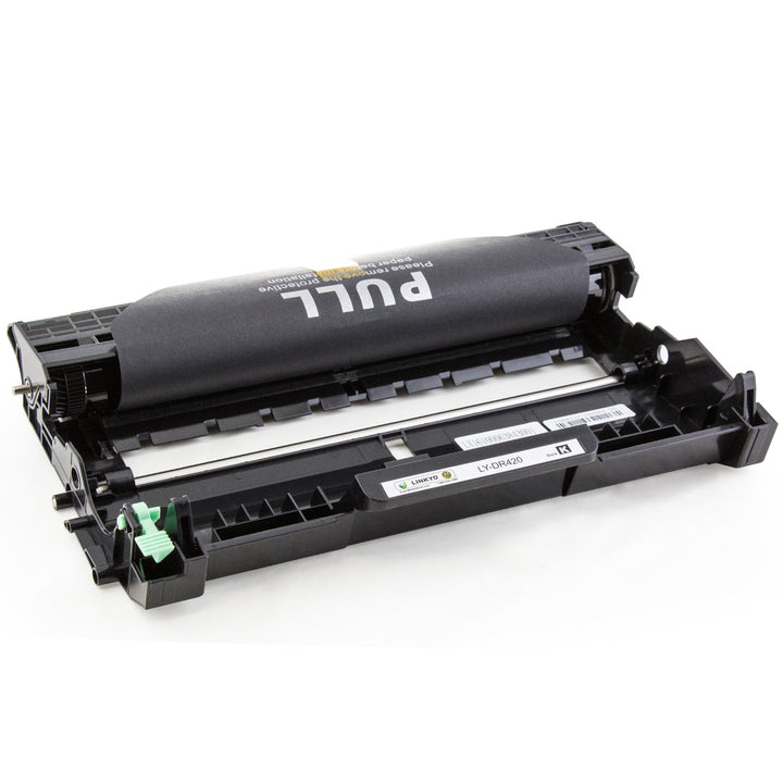 LINKYO Replacement Toner and Drum Set for Brother TN450 and DR420 (2x TN450, DR420)