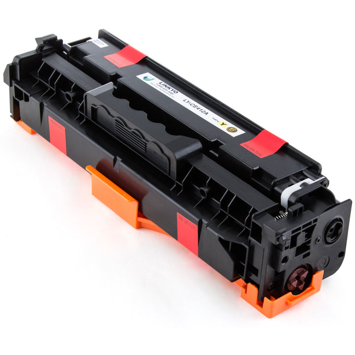 LINKYO Replacement Yellow Toner Cartridge for HP 305A CE412A