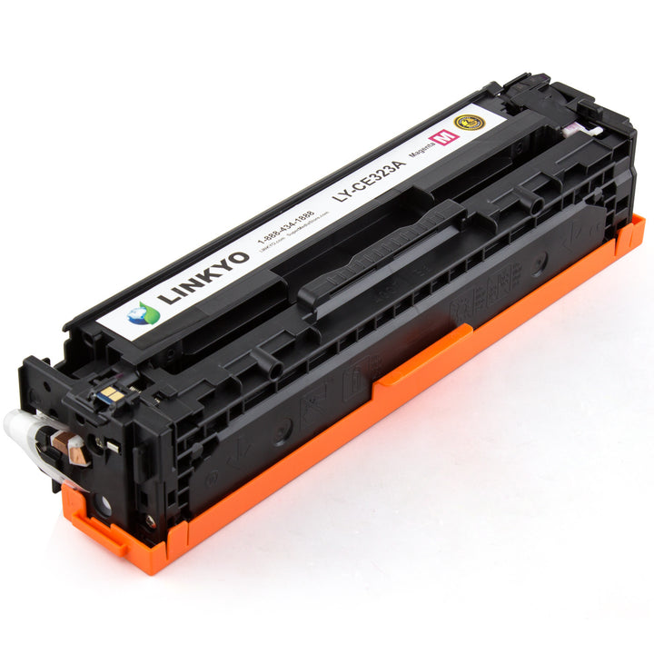 LINKYO Replacement Magenta Toner Cartridge for HP 128A CE323A