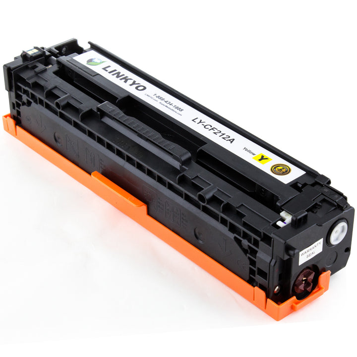 LINKYO Replacement Yellow Toner Cartridge for HP 131A CF212A