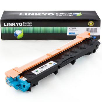 LINKYO Replacement Cyan Toner Cartridge for Brother TN225C