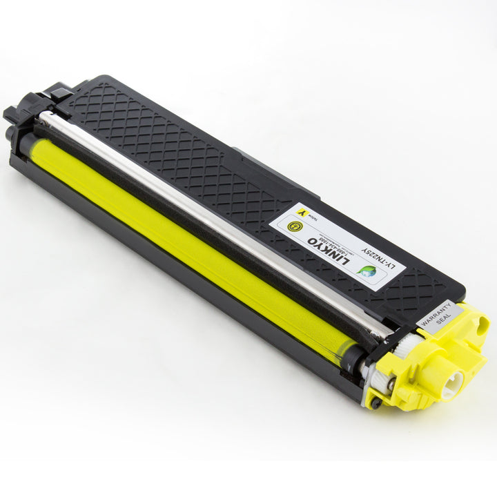 LINKYO Replacement Yellow Toner Cartridge for Brother TN225Y