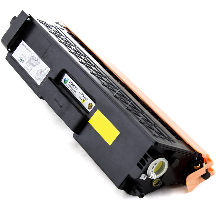 LINKYO Replacement Yellow Toner Cartridge for Brother TN336Y