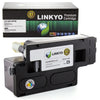 LINKYO Replacement Black Toner Cartridge for Dell 1250, 1350, 1355, C1760, C1765