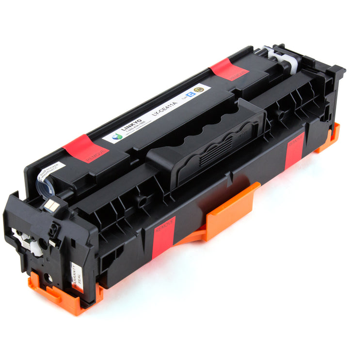 LINKYO Replacement 4-Color Toner Set for HP 305A 305X (Black, Cyan, Magenta, Yellow)