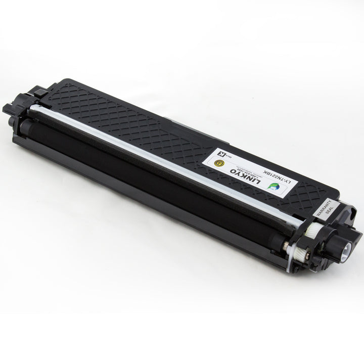 LINKYO Replacement 4-Color Toner Set for Brother TN221 and TN225 (Black, Cyan, Magenta, Yellow)