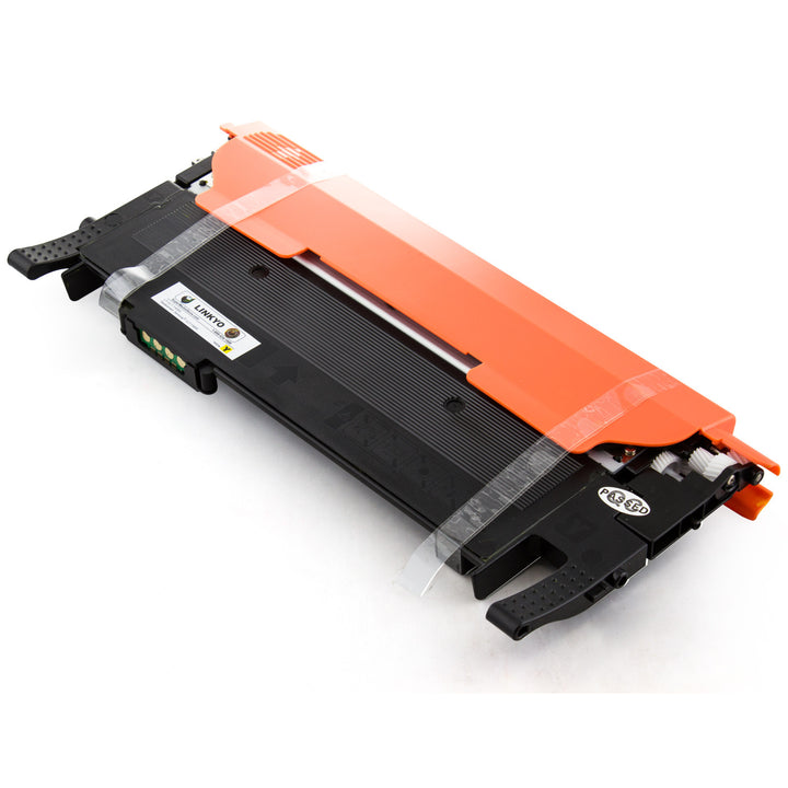 LINKYO Replacement 4-Color Toner Set for Samsung 406S (CLP365W, CLX3305FW)