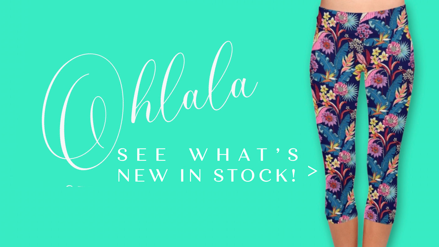 New in stock leggings & capris