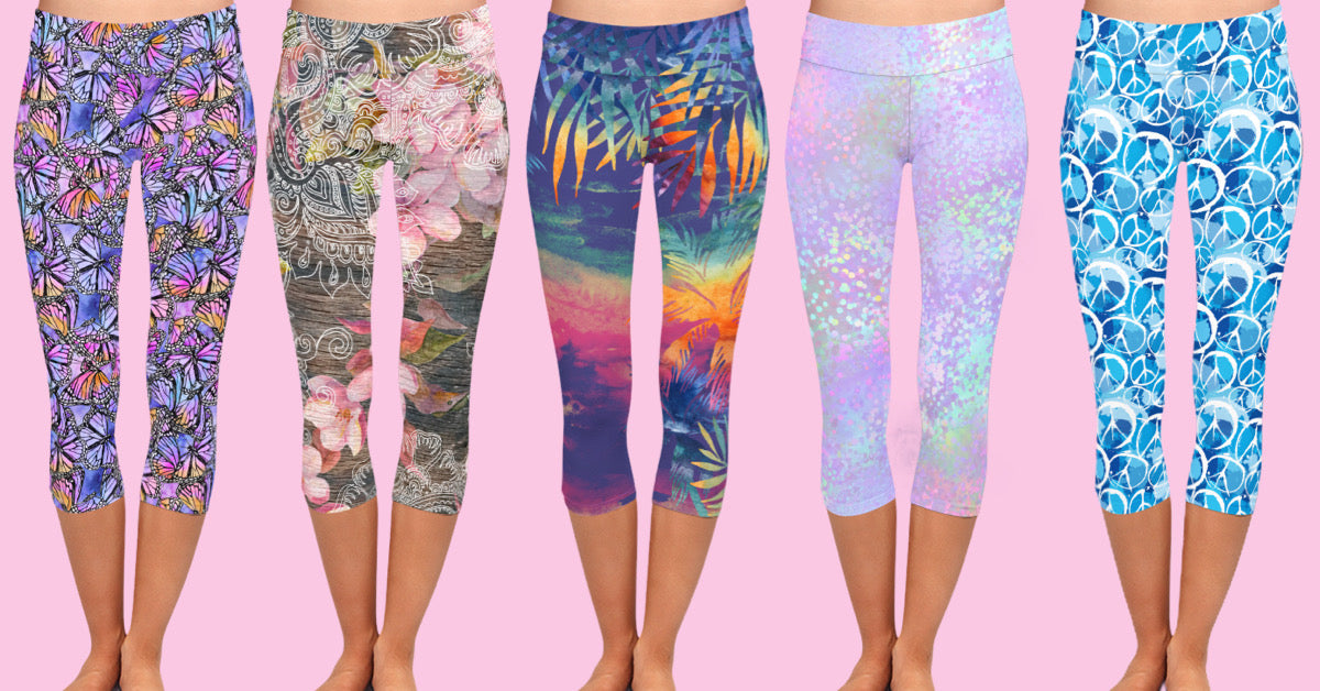 Exclusive capri leggings by Dream Leggings