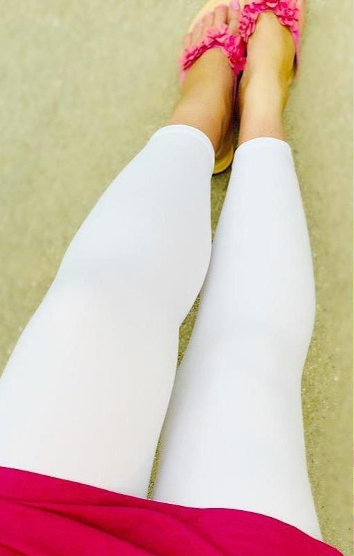Classic Solid White - CAPRI-Dream Leggings