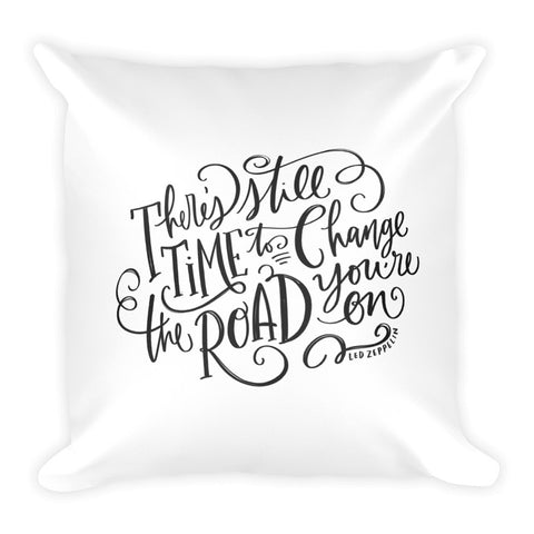Led Zeppelin Square Pillow