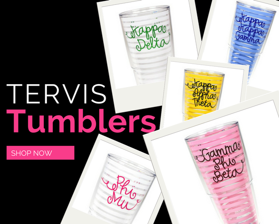 Tervis Sorority Tumblers... Love them!