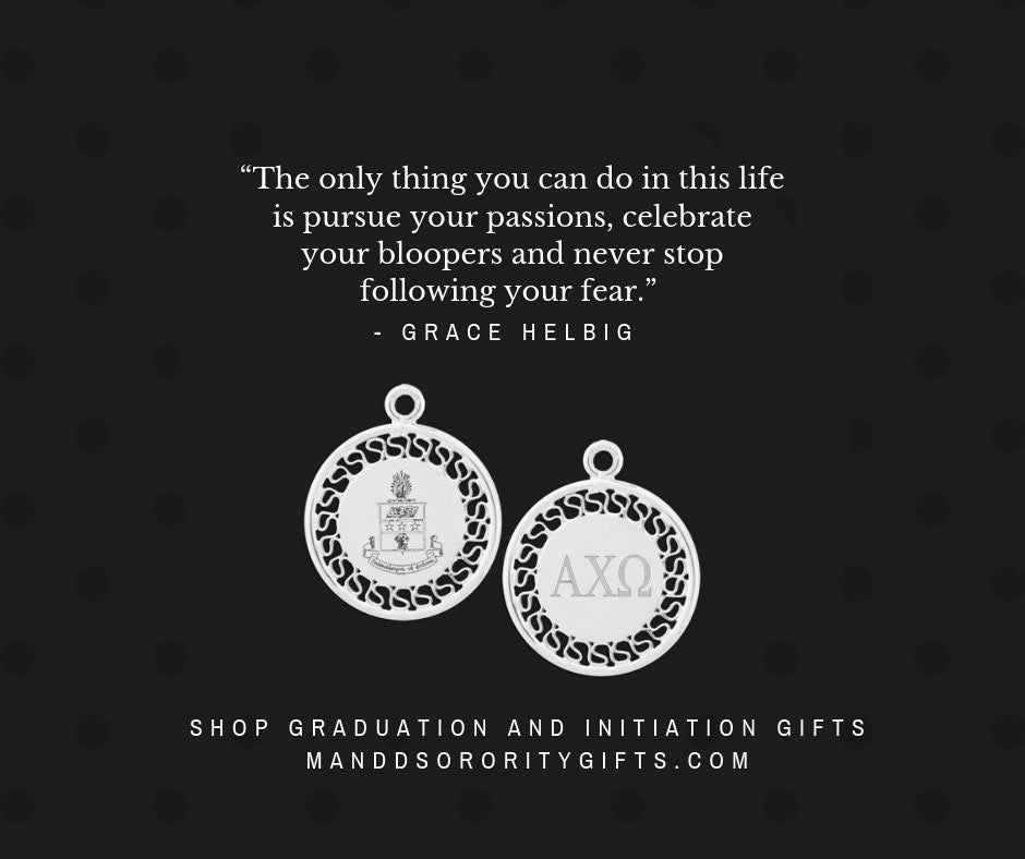 alpha chi omega initiation graduation gifts quotes for cards