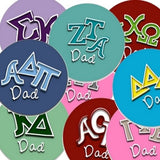Sorority Dad buttons make great Father's day gifts for only 2.98