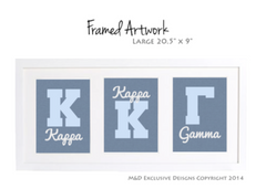 Sorority Decorating - Framed Artwork & Signs