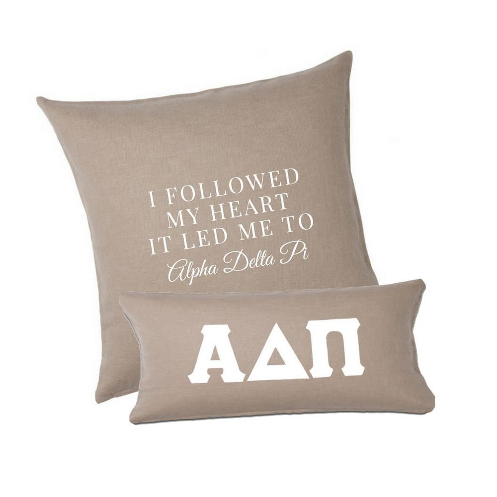 Decorative Sorority PillowsSquare and Lumbar