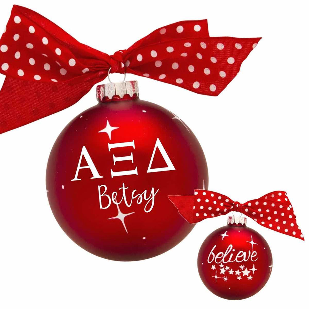Exclusive Sorority Ornaments (Personalize)