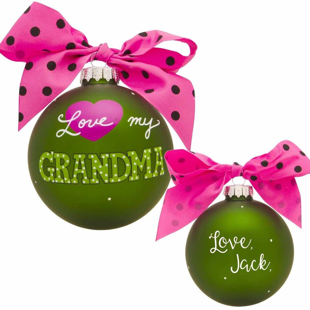 Family & Occupation Ornaments (Personalize)