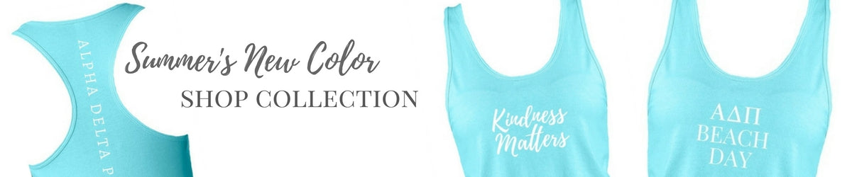 Shop Sorority Tank Tops Collection