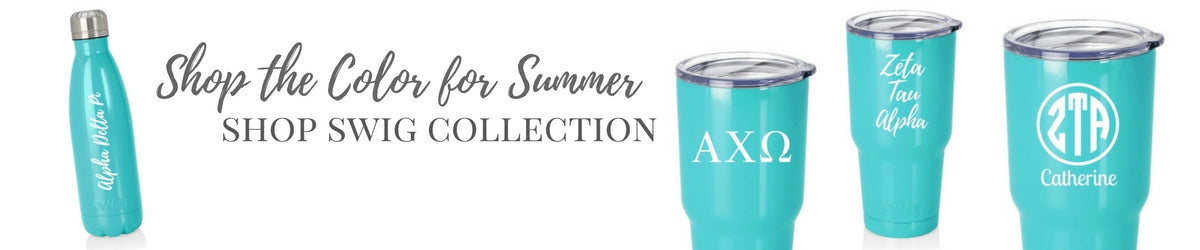 Shop Sorority Tumblers and Water Bottles