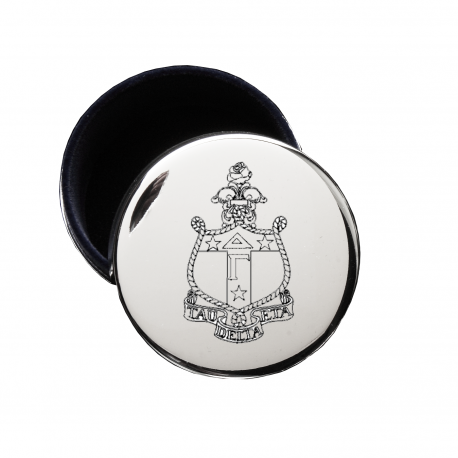 Delta Gamma crest jewelry box.