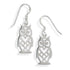Chi Omega Owl Earrings. Shop #ChiOmega jewelry at M&D Sorority Gifts.  200+ #CHIO products available. #mdsororitygifts