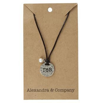 Gamma Phi Beta Sisters Necklace