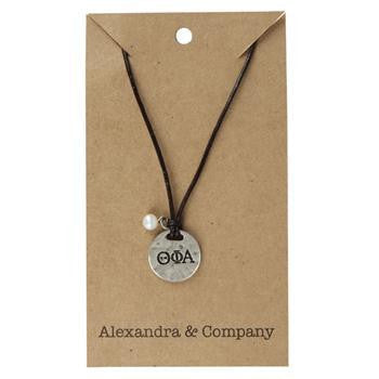 Theta Phi Alpha Sisters Necklace