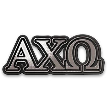 Alpha Chi Omega car Emblems are must have for any sorority girl's car!
