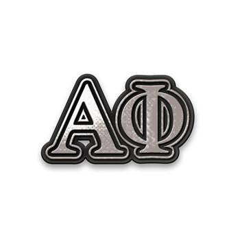 Alpha Phi Decal for Car Greek Letters
