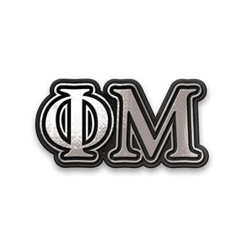 Phi Mu car Emblems are must have for any sorority girl's car!