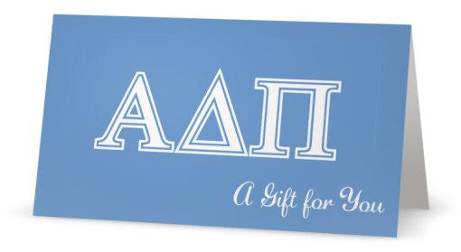 Sorority Gift Card I 28 Sororities