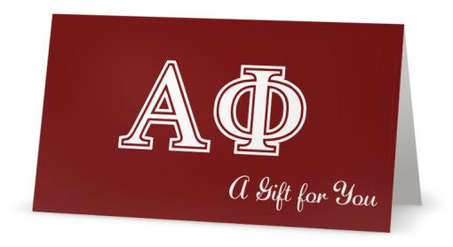 Alpha Phi Gift Card