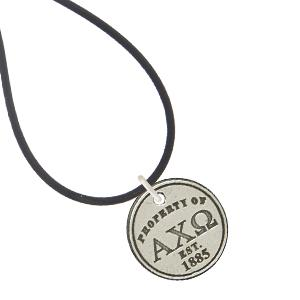Alpha Chi Omega Property of necklace and bracelet. #AlphaChiOmega #AXO