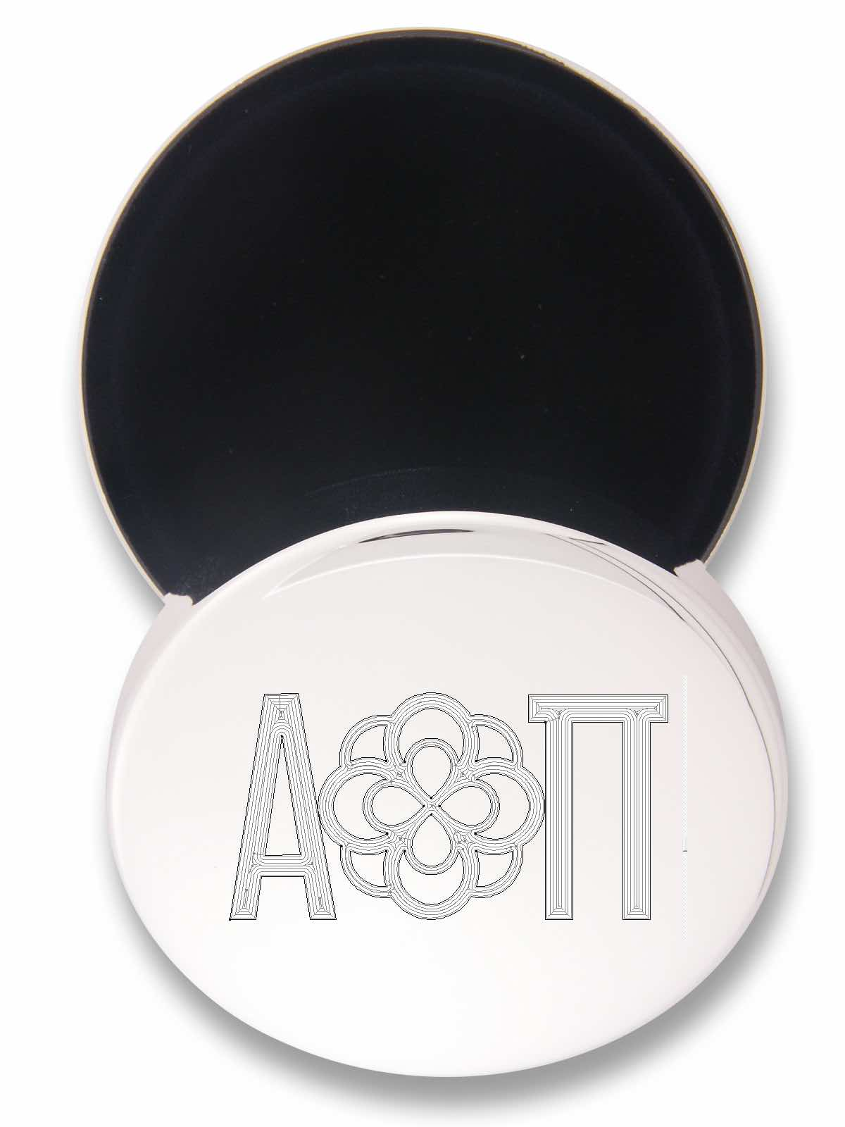 Alpha Omicron Pi jewelry box great gift for seniors.