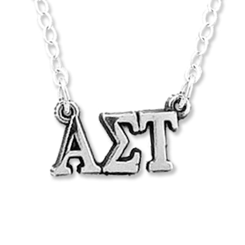 Alpha Sigma Tau necklace, choker style.