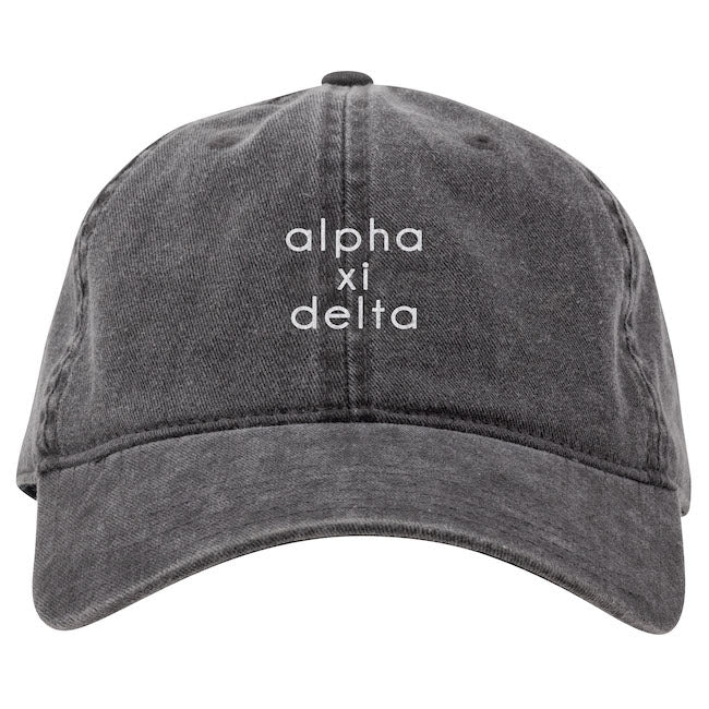 Alpha Xi Delta Hat . Embroidery I On Sale