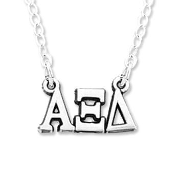 Alpha Xi Delta necklace, choker style.