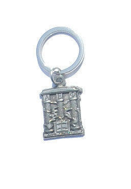 Alpha Epsilon Phi Keychain . Crest with Greek Letters