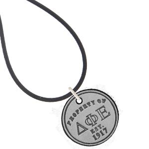 Delta Phi Epsilon Property of necklace and bracelet. #DeltaPhiEpsilon #DPHIE