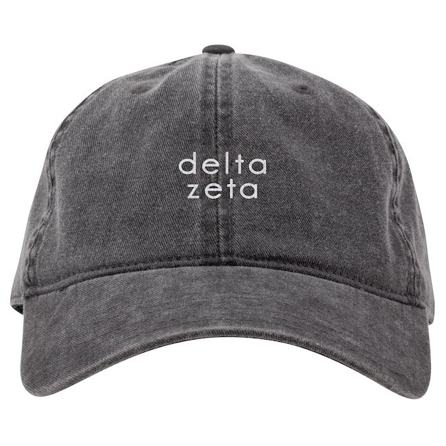 Delta Zeta Hat . Embroidery I On Sale
