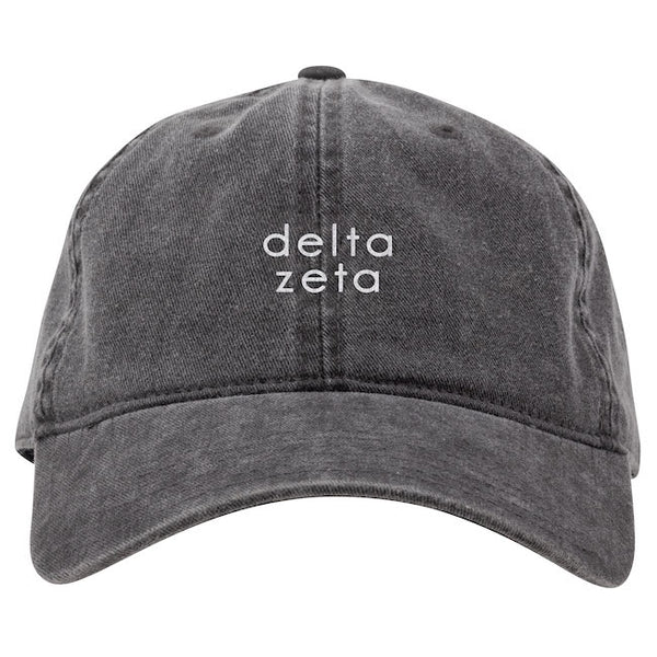Delta Zeta Hat . Embroidery